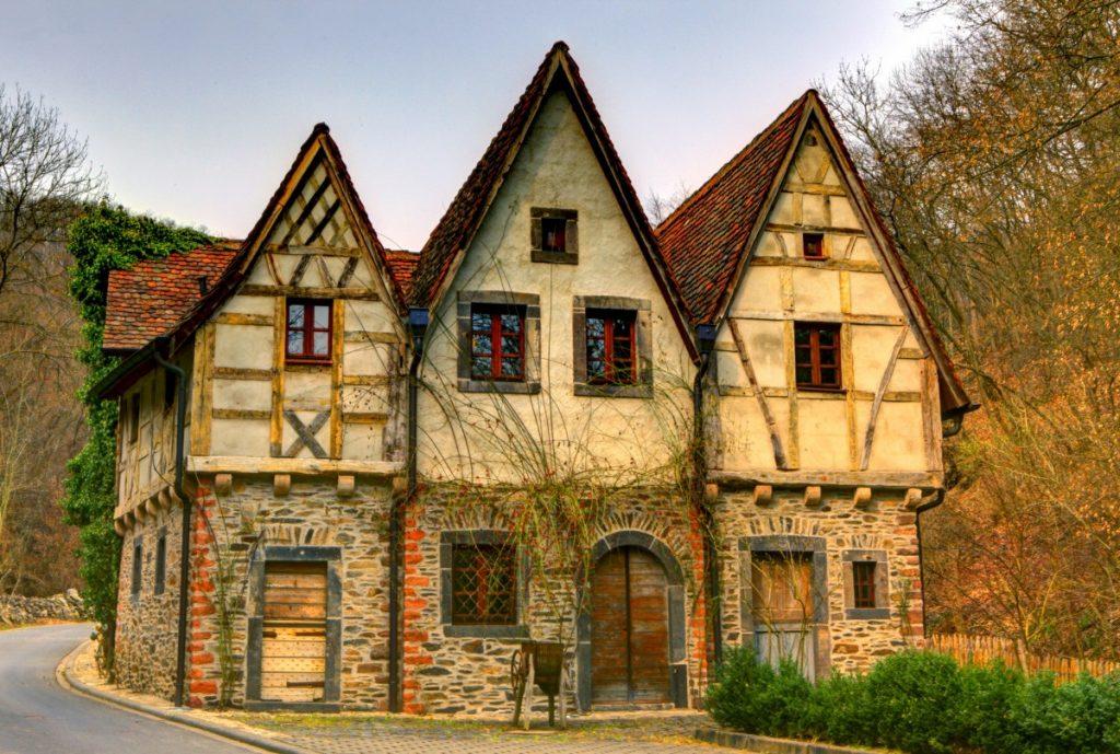старые немецкие дома фото рыла