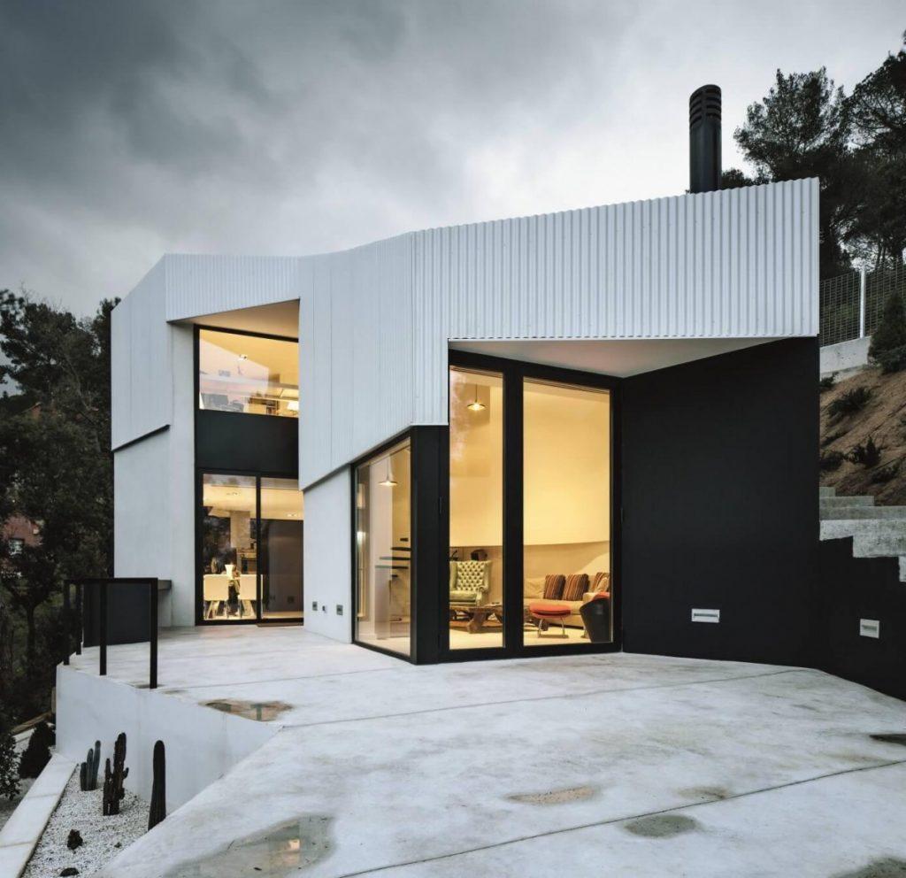 фото домов с дизайнером минимализма домовладельцев закрывают глаза