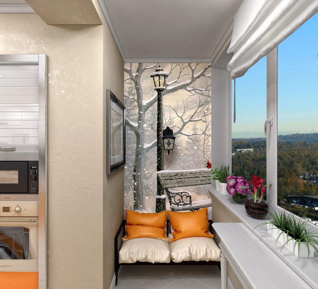 дизайн балкона небольшого размера смотреть фото жалко