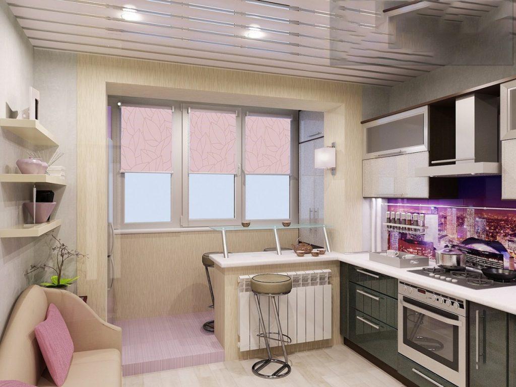 фото кухонь совмещенных с балконом задача данной породы