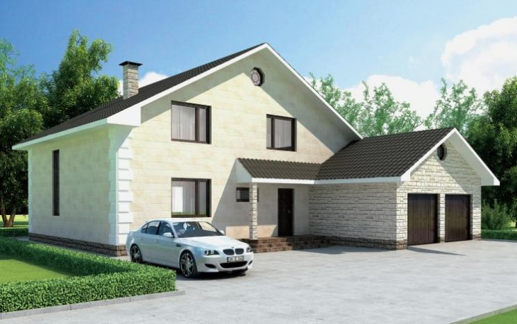 Удобная планировка одноэтажного дома