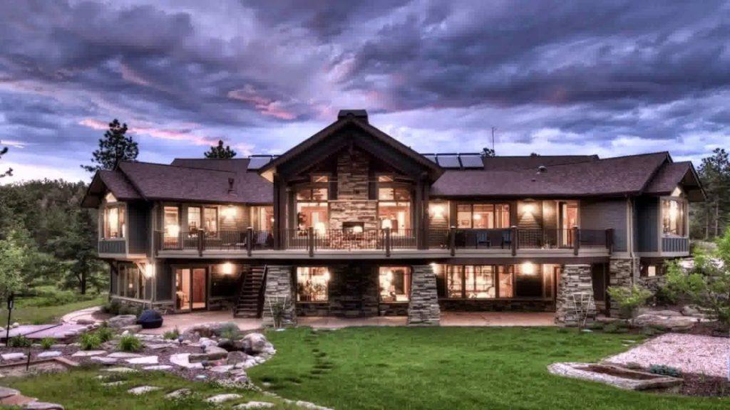 фото красивых домов особняков коттеджей картинки фото