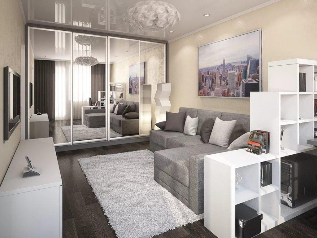 Картинки однокомнатные квартиры интерьер